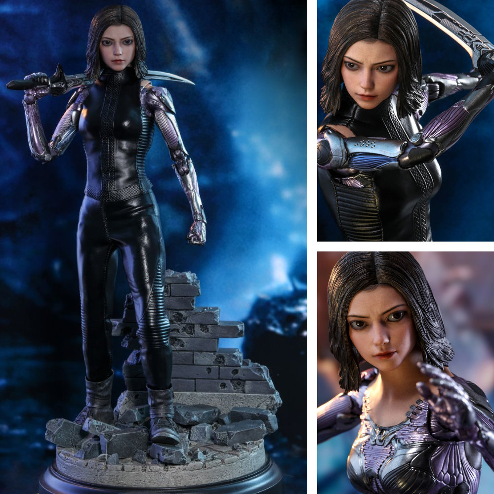 Alita - Battle Angel: Alita (Rosa Salazar), 1/6 Figur ... https://spaceart.de/produkte/alita-battle-angel-1-6-figur-hot-toys-mms520-aba001.php