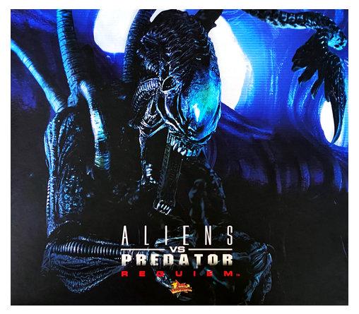 Aliens vs. Predator - Requiem: Alien Warrior mit Face Hugger, 1/6 Figur ... https://spaceart.de/produkte/avp001-alien-vs-predatur-alien-warrior-face-hugger-figur-hot-toys-mms54-4897011171340-spaceart.php