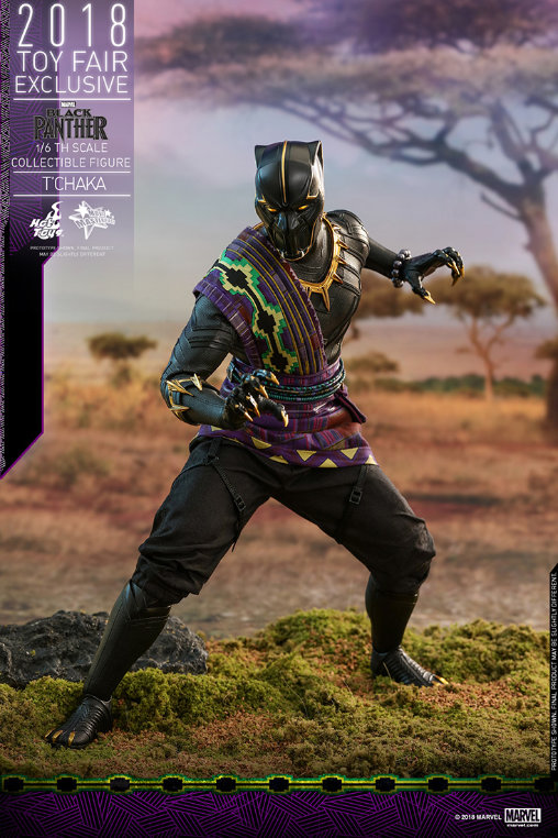 Black Panther: TChaka - King of Wakanda, Deluxe-Figur (voll beweglich) ... https://spaceart.de/produkte/bp001.php