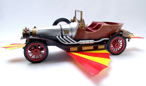 Chitty Chitty Bang Bang: Flying Wonder Car, Typ: Fertig-Modell