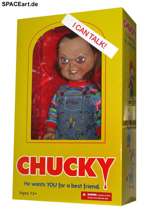 Chucky die Mörderpuppe: Chucky (mit Sound), Puppe ... https://spaceart.de/produkte/chucky-die-moerderpuppe-mit-sound-mezco-chk004.php
