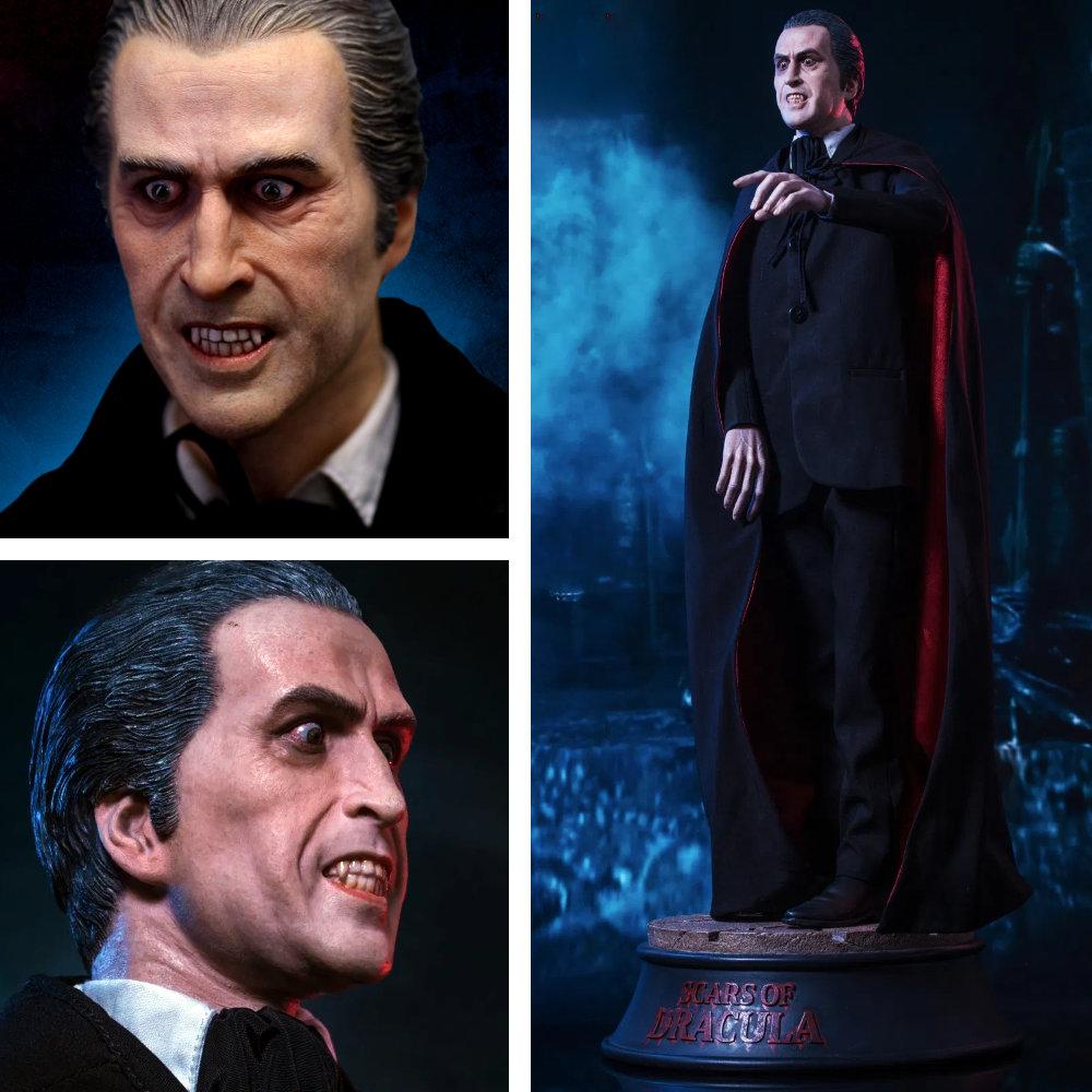 Dracula - Nächte des Entsetzens: Count Dracula (Christopher Lee), Statue ... https://spaceart.de/produkte/count-dracula-christopher-lee-statue-star-ace-drc001.php