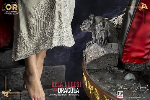 Dracula: Bela Lugosi als Graf Dracula, Statue ... https://spaceart.de/produkte/drc002-bela-lugosi-dracula-statue-ininite-907242-0833300748163-spaceart.php