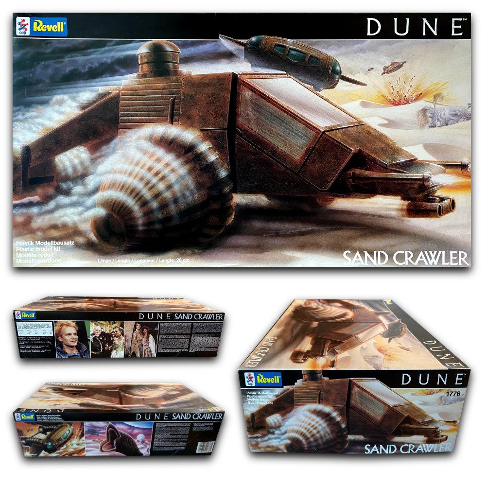 Dune - der Wüstenplanet: Sandcrawler, Modell-Bausatz ... https://spaceart.de/produkte/dune-der-wuestenplanet-sand-crawler-modell-bausatz-revell-dwp002.php