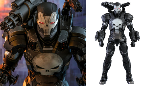 Future Fight: The Punisher War Machine Armor, Typ: Deluxe-Figur (voll beweglich)