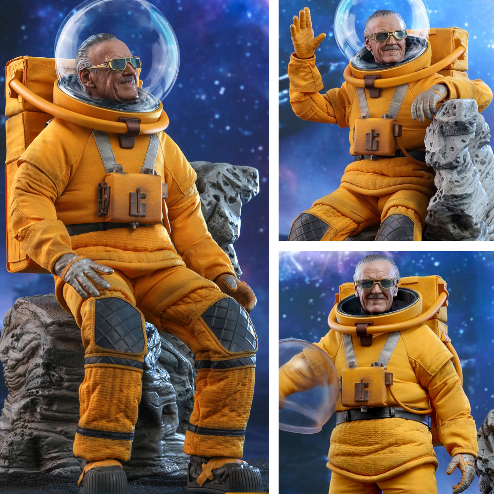 Guardians of the Galaxy 2: Stan Lee, 1/6 Figur ... https://spaceart.de/produkte/guardians-of-the-galaxy-2-stan-lee-1-6-figur-hot-toys-mms545-gog001.php