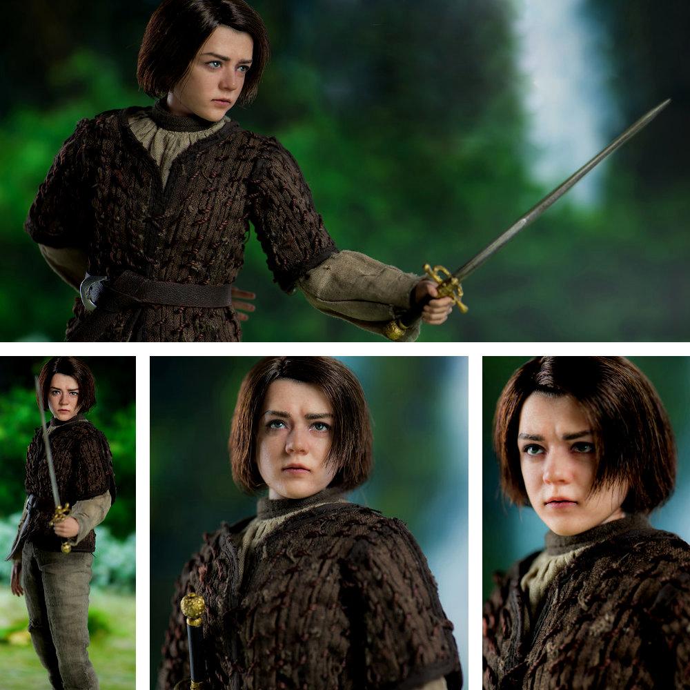 Game of Thrones: Arya Stark (Maisie Williams), 1/6 Figur ... https://spaceart.de/produkte/game-of-thrones-arya-stark-1-6-figur-threezero-got009.php