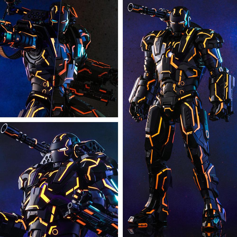 Iron Man 2: Neon Tech War Machine, 1/6 Figur ... https://spaceart.de/produkte/iron-man-2-neon-tech-war-machine-1-6-figur-hot-toys-mms553d35-irm001.php