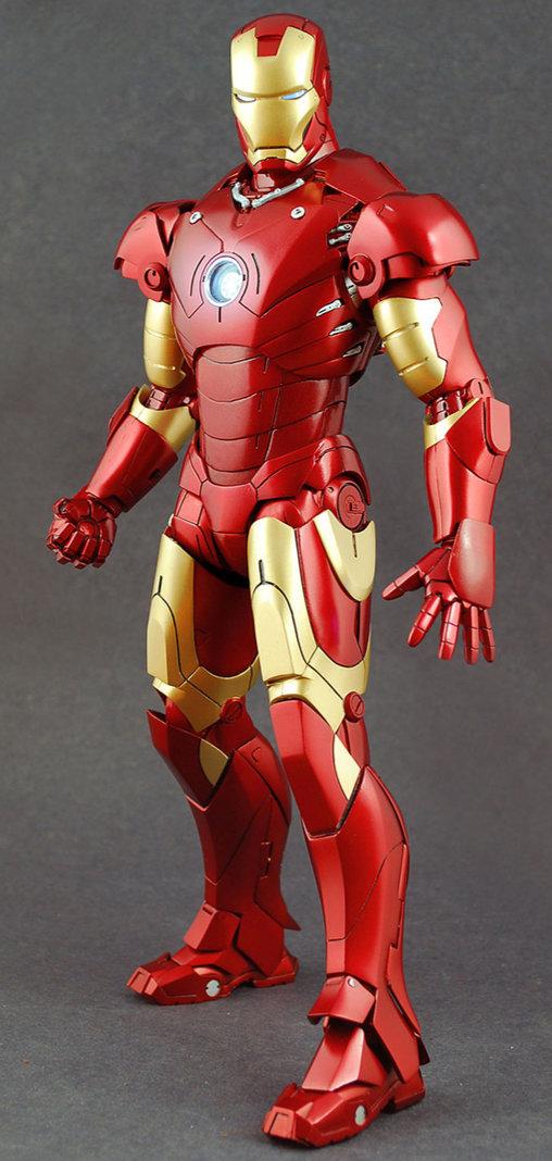 Iron Man 1: Iron Man Mark III, 1/6 Figur ... https://spaceart.de/produkte/irm008-iron-man-mark-iii-mk-3-figur-hot-toys-mms75-4897011172200-spaceart.php