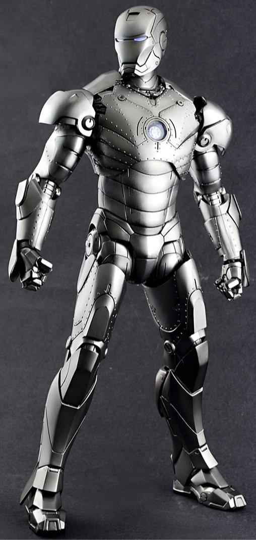 Iron Man 1: Iron Man Mark II, 1/6 Figur ... https://spaceart.de/produkte/irm011-iron-man-mark-ii-figur-hot-toys-mms78-4897011172262-spaceart .php