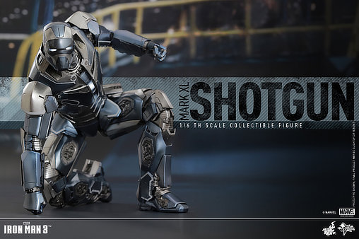 iron man 3 iron man mark xl shotgun deluxefigur voll