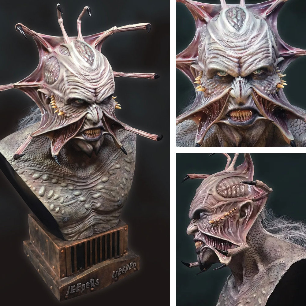 Jeepers Creepers: Creeper - Life-Size Bust (Jonathan Breck), Büste ... https://spaceart.de/produkte/jeepers-creepers-creeper-life-size-bust-bueste-hcg-jpc001.php