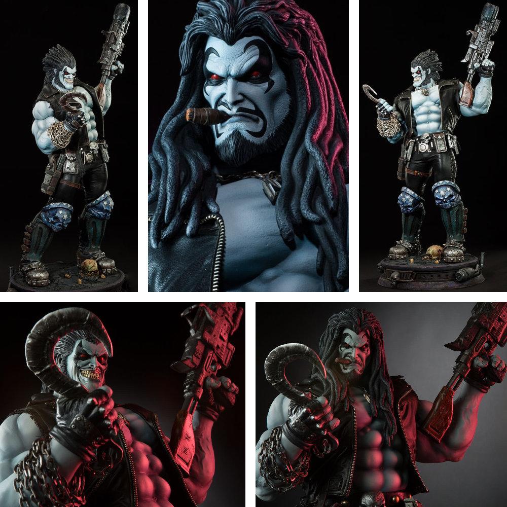 Lobo: Interstellar Bounty Hunter Lobo, Statue / Premium Format Figur ... https://spaceart.de/produkte/lobo-premium-format-figur-sideshow-lbo001.php