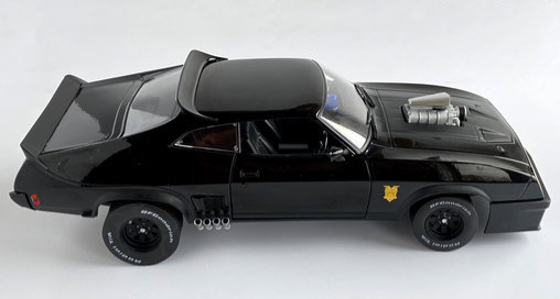 Mad Max 1: Ford Falcon, Modell-Bausatz ... https://spaceart.de/produkte/mdx001.php