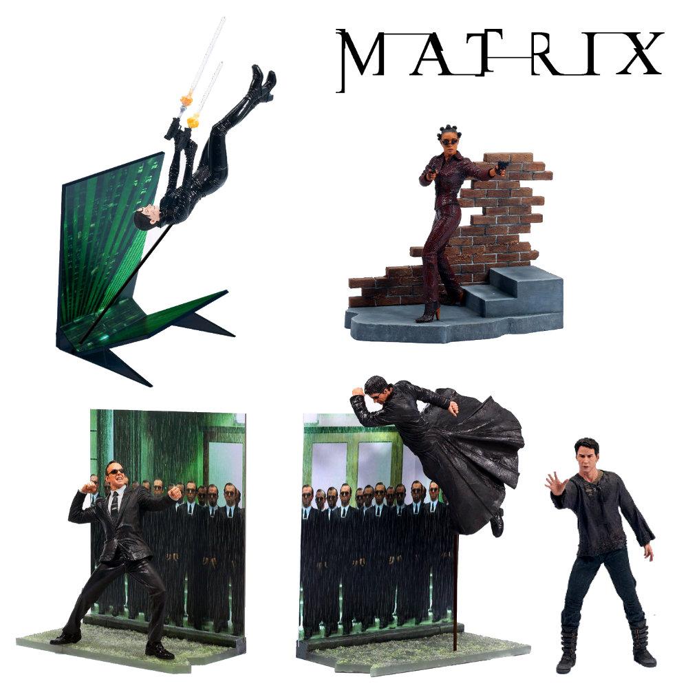 The Matrix: 5er Figuren Set, Action-Figuren ... https://spaceart.de/produkte/the-matrix-5er-figuren-set-action-figuren-mcfarlane-toys-mtx001.php