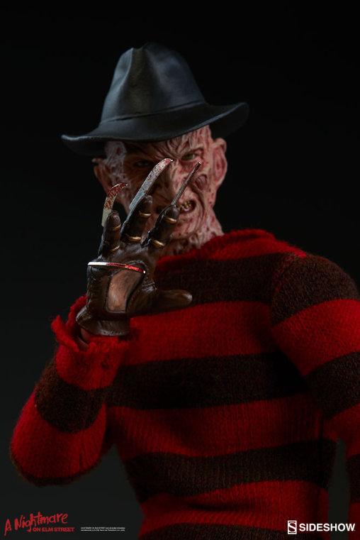 Nightmare on Elm Street 3: Freddy Krueger, 1/9 Figur ... https://spaceart.de/produkte/nes002-freddy-krueger-figur-sideshow-nightmare-on-elm-street-3-100359-747720231184-spaceart.php