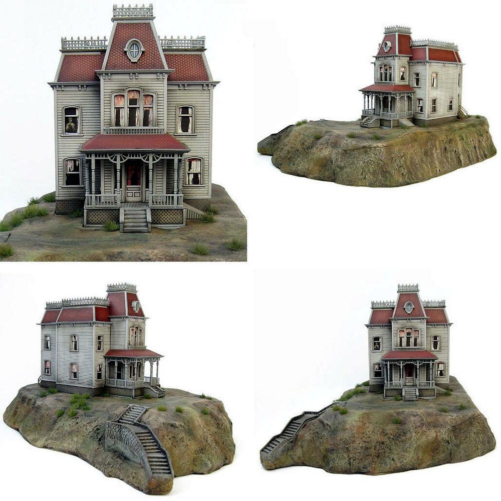 Psycho: The Bates Mansion, Modell-Bausatz ... https://spaceart.de/produkte/psycho-the-bates-mansion-modell-bausatz-polar-lights-psy001.php
