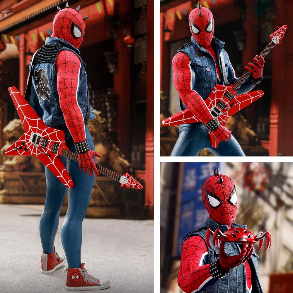 Spider-Man: Spider-Punk Suit, 1/6 Figur ... https://spaceart.de/produkte/spider-man-spider-punk-suit-1-6-figur-hot-toys-vgm32-spm001.php