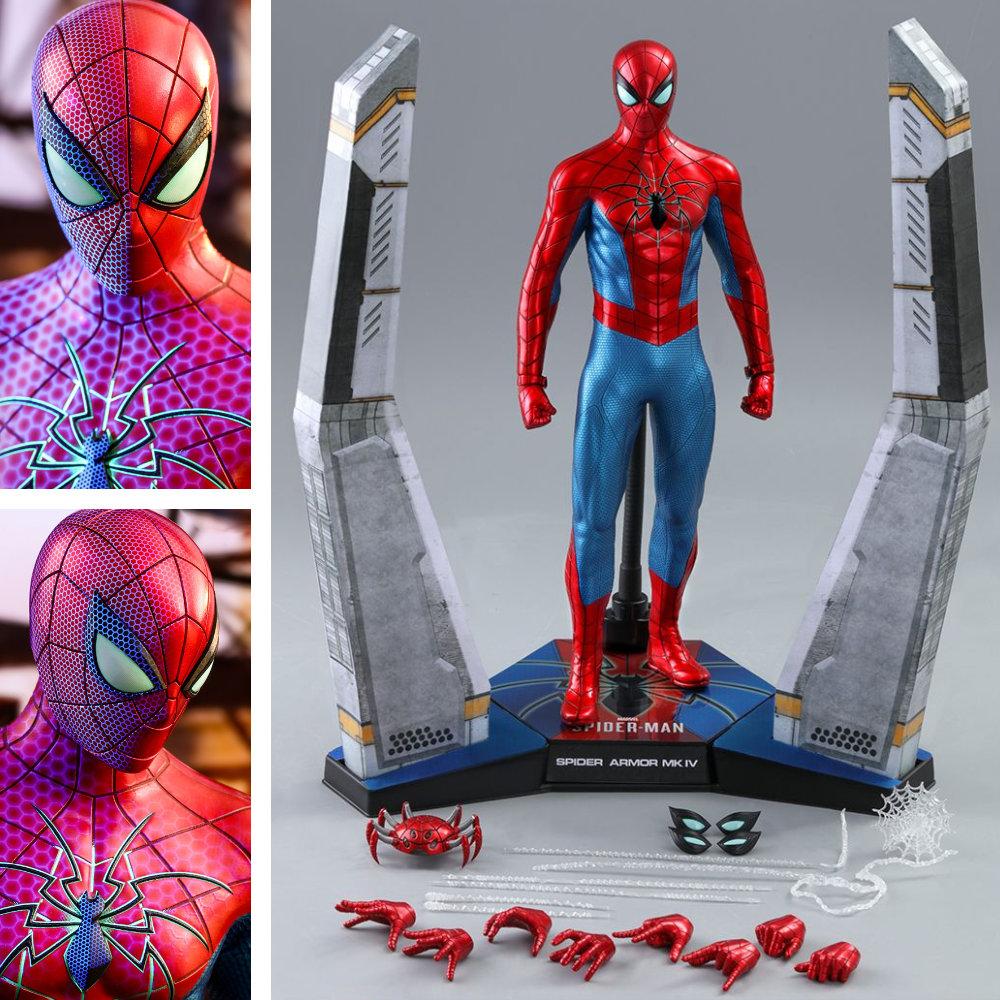 Spider-Man: Spider Armor - MK IV Suit, 1/6 Figur ... https://spaceart.de/produkte/spm006-spiderman-spider-armor-mk-iv-suit-figur-hot-toys-vgm43-906512-4895228605429-spaceart.php