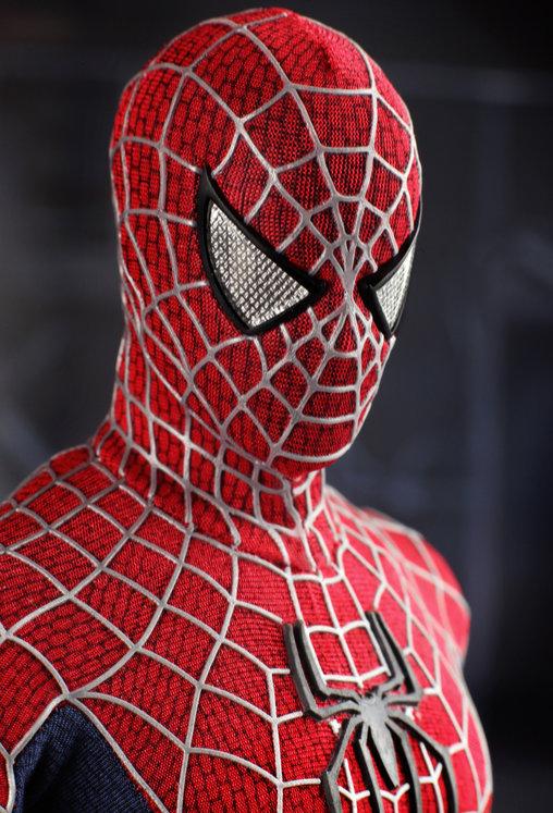 Spider-Man 3: Spider-Man, 1/6 Figur ... https://spaceart.de/produkte/spm007-spider-man-3-figur-hot-toys-mms143-4897011173719-spaceart.php