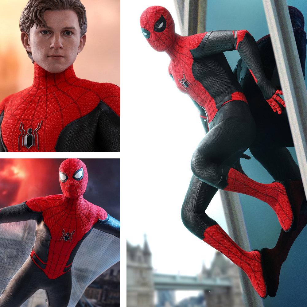 Spider-Man - Far From Home: Spider-Man - Upgraded Suit, 1/6 Figur ... https://spaceart.de/produkte/spm010-spider-man-upgraded-suit-far-from-home-figur-hot-toys-mms542-904867-4895228602381-spaceart.php