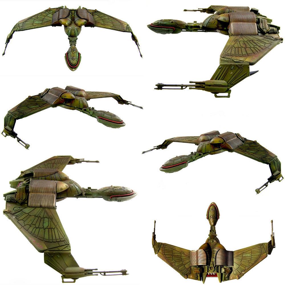Star Trek: Klingon Bird of Prey, Modell-Bausatz ... https://spaceart.de/produkte/star-trek-klingon-bird-of-prey-modell-bausatz-ertl-st082.php