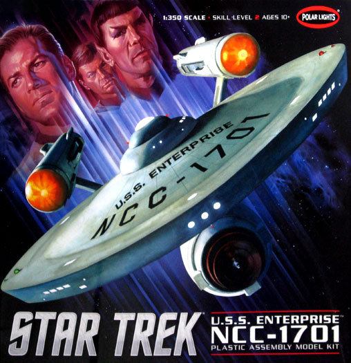 Star Trek: U.S.S. Enterprise NCC-1701 (Giant Kit), Modell-Bausatz ... https://spaceart.de/produkte/st021.php