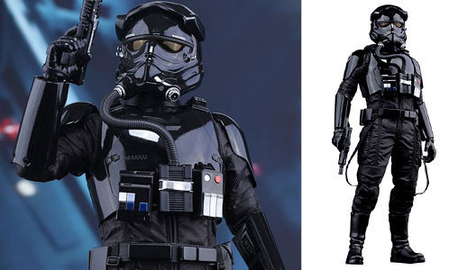 Star Wars: First Order TIE Pilot, PVC Figur