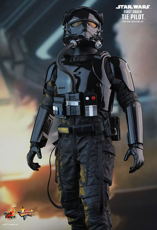 Star Wars: First Order TIE Pilot, PVC Figur ... https://spaceart.de/produkte/sw131.php