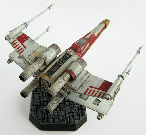 Star Wars: Rot-6 X-Wing Fighter, Fertig-Modell ... https://spaceart.de/produkte/sw108.php