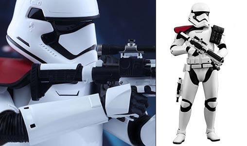 Star Wars: First Order Stormtrooper Officer, Typ: Deluxe-Figur (voll beweglich)