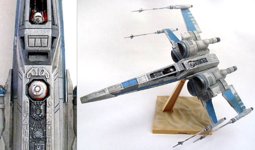 Star Wars: X-Wing Fighter - Episode VII, Fertig-Modell