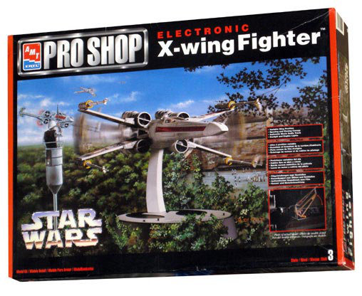 Star Wars: X-Wing Fighter - Electronic, Modell-Bausatz ... https://spaceart.de/produkte/sw078.php