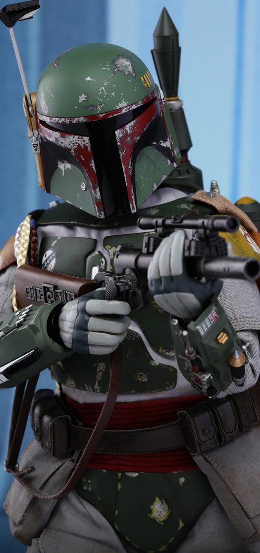 Star Wars: Boba Fett, 1/6 Figur ... https://spaceart.de/produkte/sw029-boba-fett-star-wars-figur-hot-toys-mms463-903351-4897011185101-spaceart.php