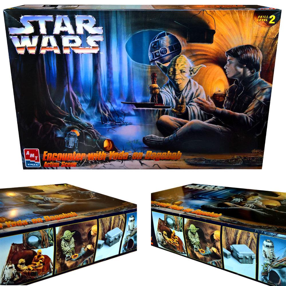 Star Wars: Yoda und Luke auf Dagobah, Modell-Bausatz ... https://spaceart.de/produkte/star-wars-yoda-und-luke-auf-dagobah-modell-bausatz-ertl-sw055.php