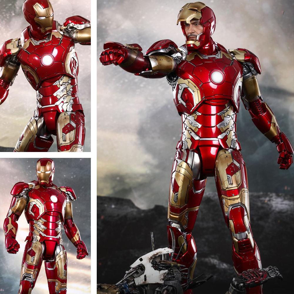 The Avengers - Age of Ultron: Iron Man Mark XLIII - DieCast, 1/6 Figur ... https://spaceart.de/produkte/tav004-iron-man-mk-xliii-the-avengers-age-of-ultron-figur-hot-toys-diecast-mms278d09-902314-4897011176376-spaceart.php