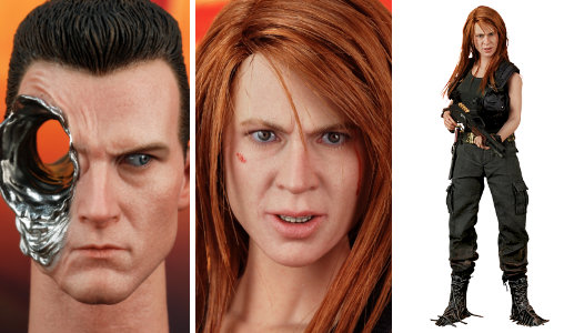 Terminator 2:  T-1000 in Sarah Connor Disguise, Typ: Deluxe-Figur (voll beweglich)